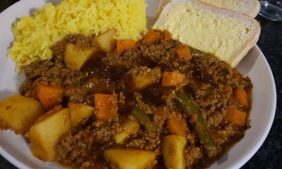 mince curry recipe